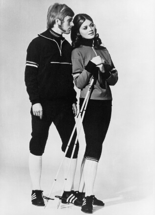 picture of man and woman staying together in odlo clothes